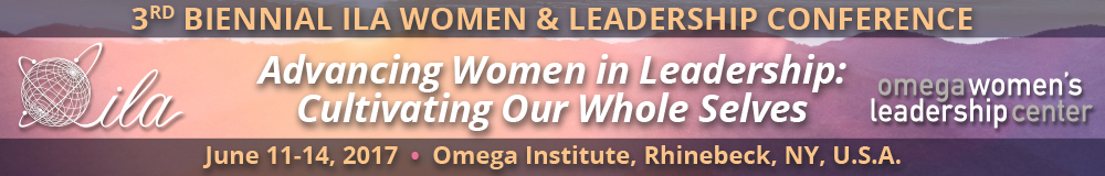 Women and Leadership Conference Banner