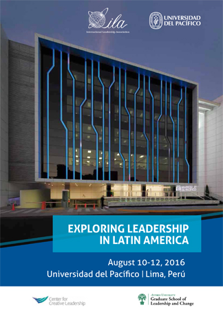 2016 Lima Program Book Cover