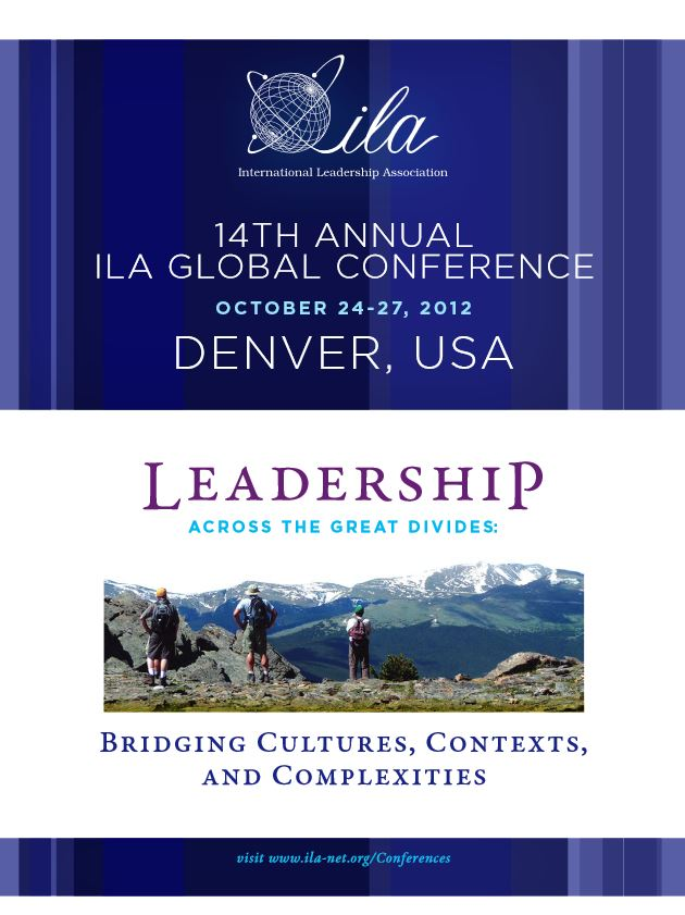 2012 Denver Program Book Cover