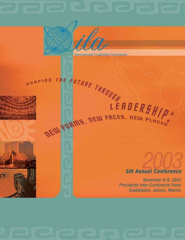 2003 Guadalajara Program Book Cover