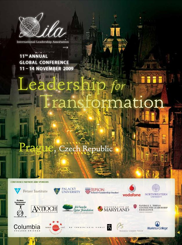 2009 Prague Program Book Cover