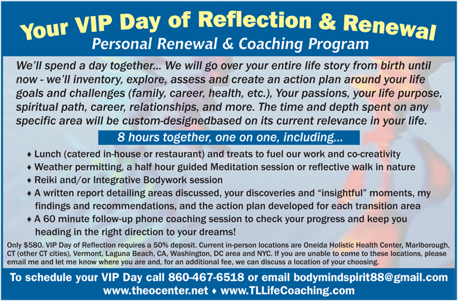 VIP Day of reflection - Learn More