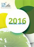 Cover of the ILA's 2016 Annual Report