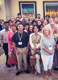 Photo of some of the participants and facilitators at ILA's 2015 Leadership Education Academy in Orlando, Florida.