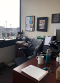 Photo of Jen DuMars' Office at ILA's New Headquarters