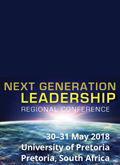 Next Generation Leadership conference | 30-31 May 2018 | Pretoria, South Africa