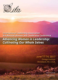 Cover of the Advancing Women in Leadership Program Book