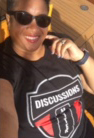 Photo of Robynne in Discussions Matter T-Shirt