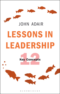 Lessons in Leadership book cover