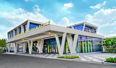 West Palm Beach Brightline Rail Station