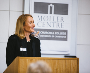 Gillian Secrett, CEO of the Møller Centre