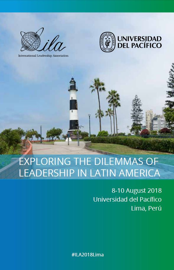 2018 Lima Program Book Cover